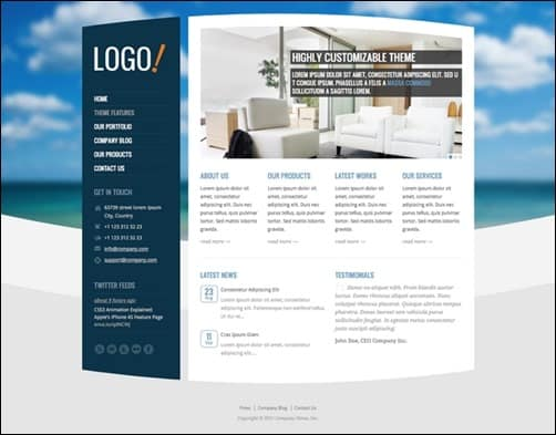 RT-Theme-15 wordpress business themes