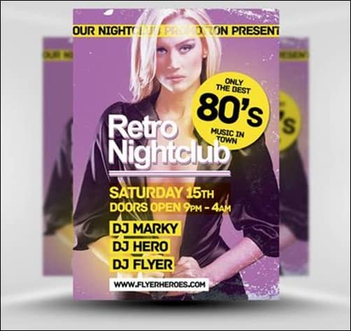 Retro-Flyer flyer templates
