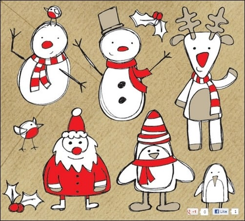 Sketchy-Christmas-Vector-Graphics-Pack