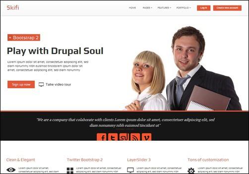 Skifi-drupal-7-themes
