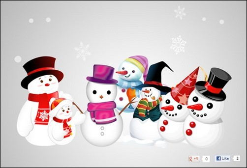 Snowman-Vector
