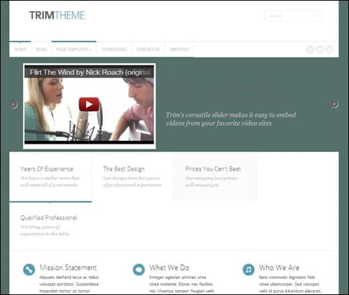 Trim-simple-wordpress-themes