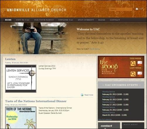 Unionville-Alliance-Church-church-websites