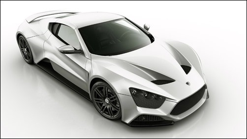Zenvo-ST1 expensive cars