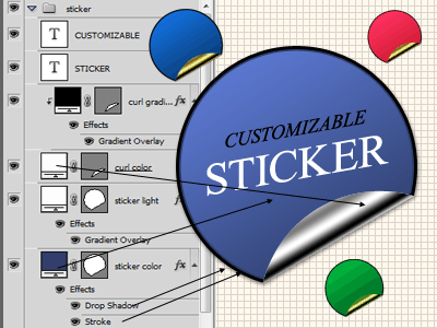 Customizable Sticker