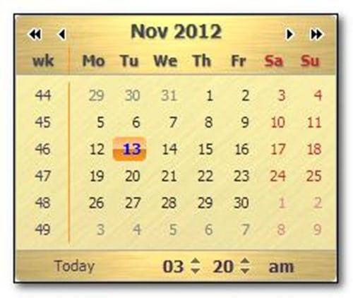dhtml-calendar