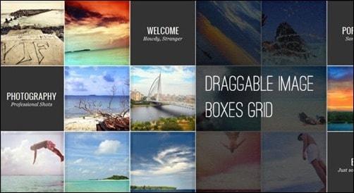 dragable-image-box jQuery Drag And Drop