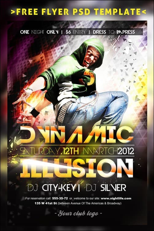 dynamic_illusion flyer templates