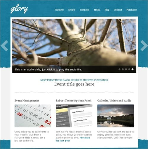 glory church templates