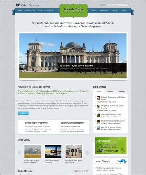 graduate-theme-for-wordpress