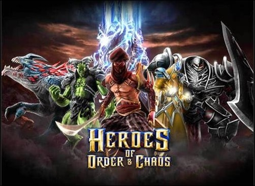 heroes-of-order-and-chaos multiplayer iphone game