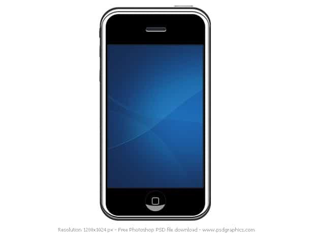iphone psd format