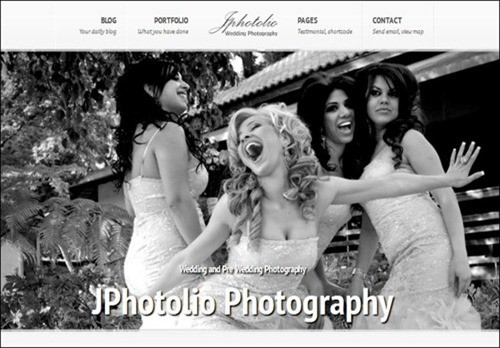 jpphotolio WordPress Photography Themes