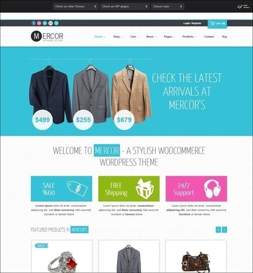 mercor-responsive-woocommerce-theme