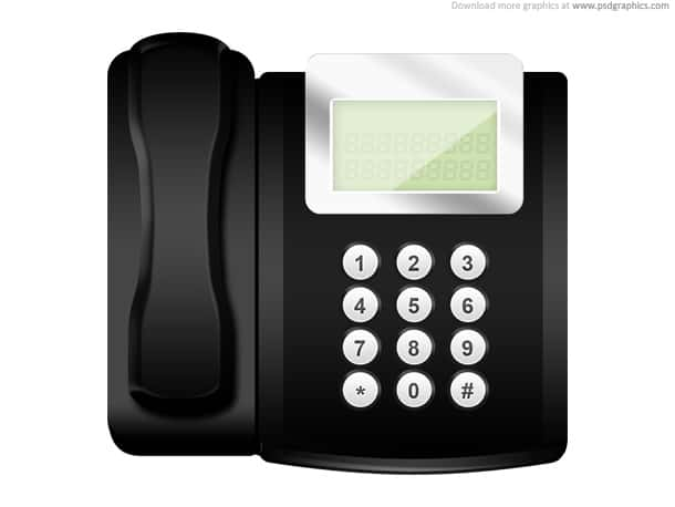 modern telephone
