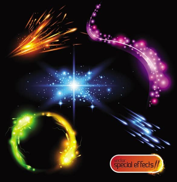Amazing Vector Light Special Effects