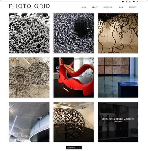photogrid WordPress Photography Themes