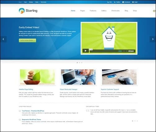 sterling wordpress business themes