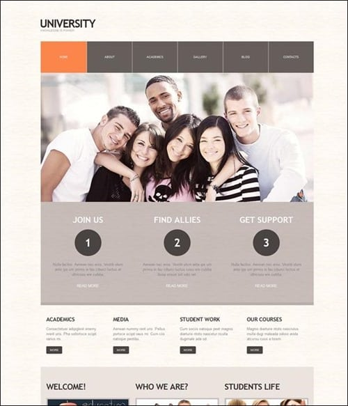 university-wordpress-theme