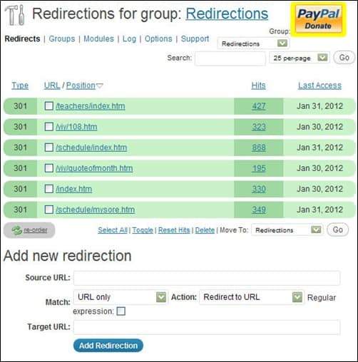 wordpress-plugin-redirection