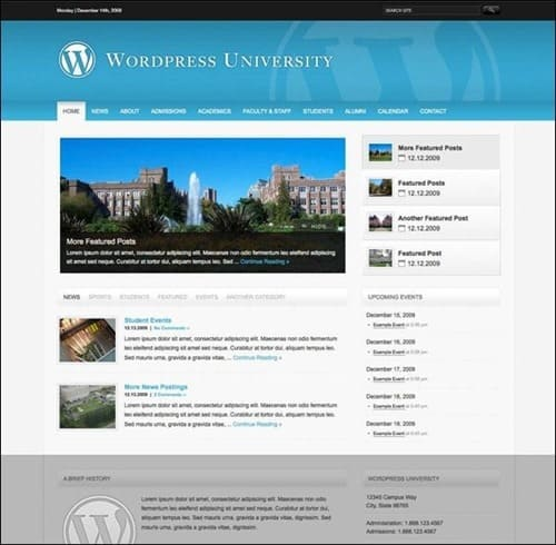 wordpress-university