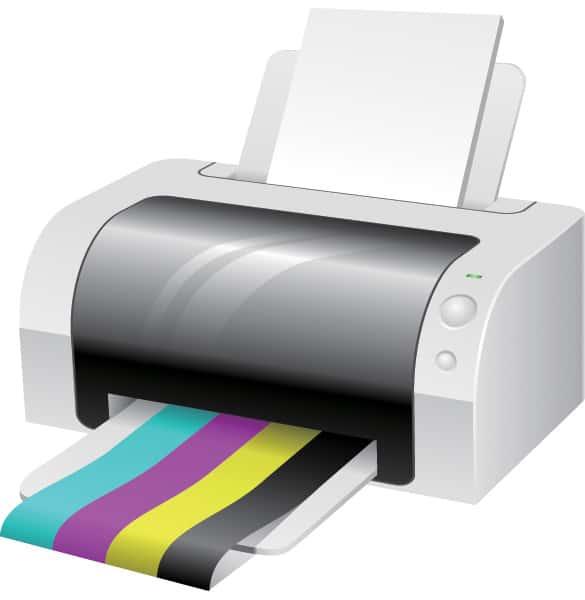 Vector Printer Illustration