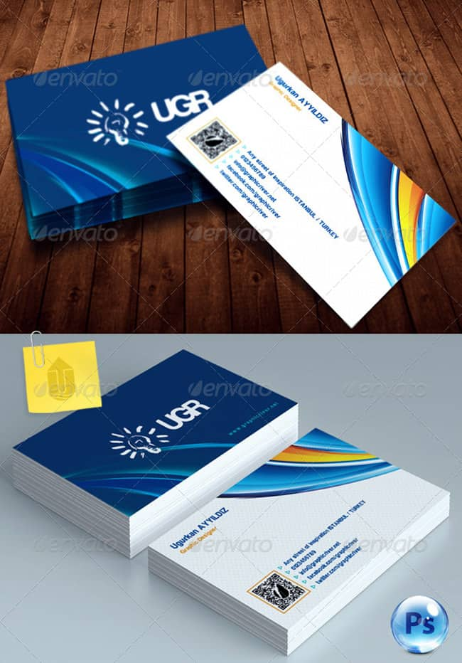 Corporate Business Card 220