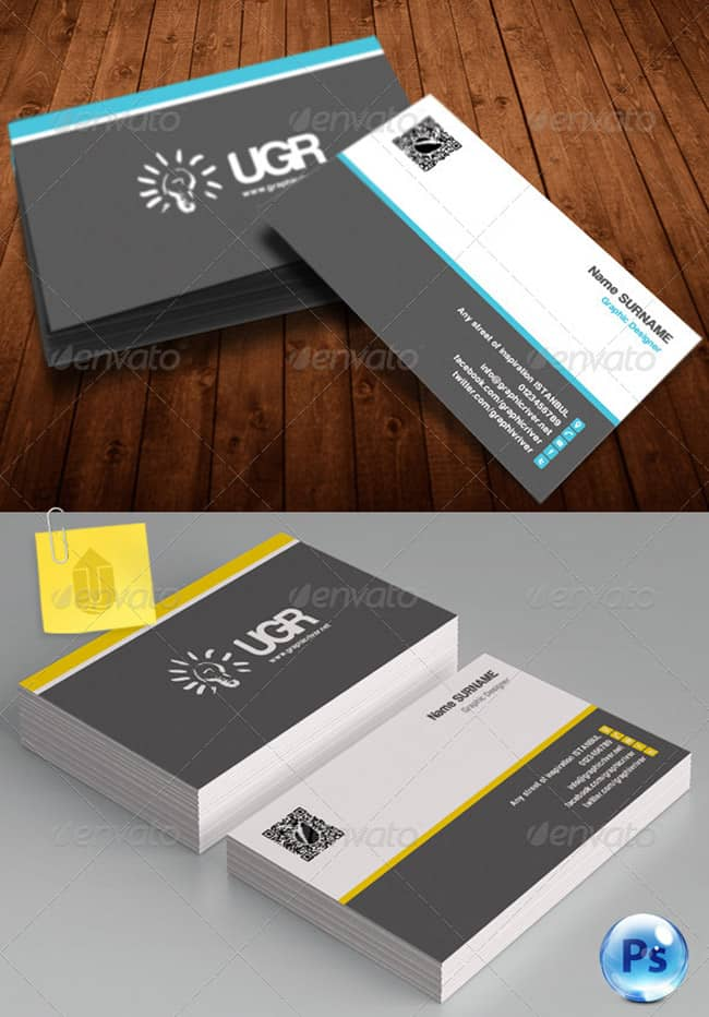 Corporate Business Card 236
