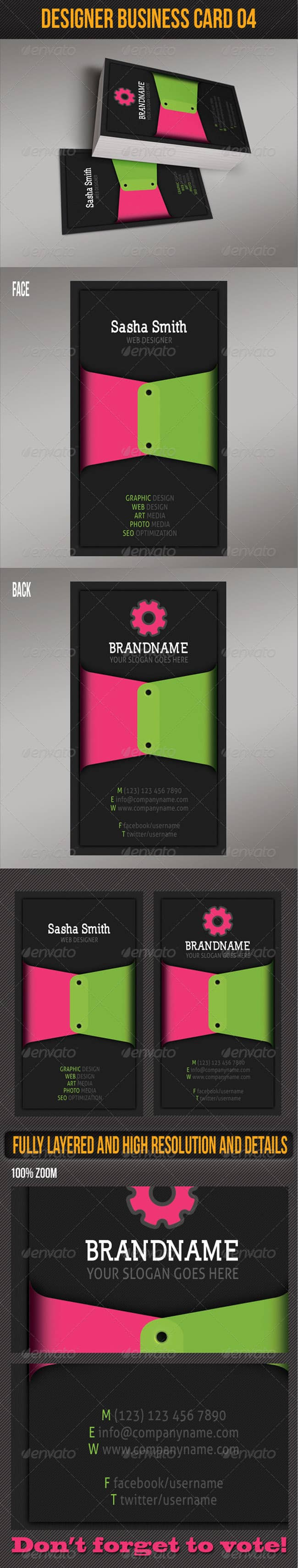 Designer Business Card 04
