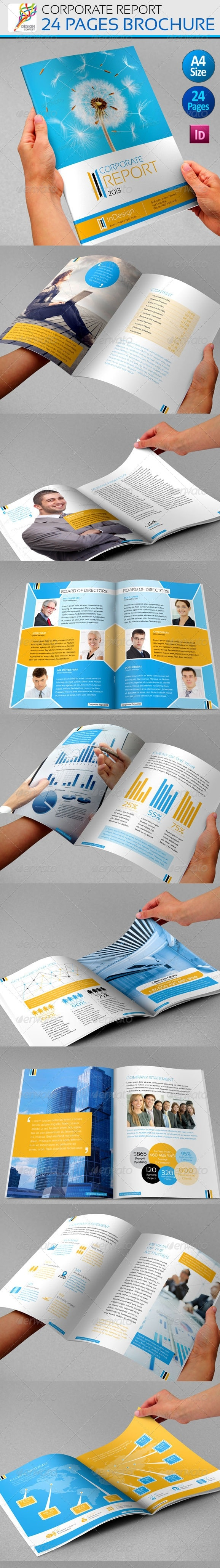 Corporate Annual Report - Brochure
