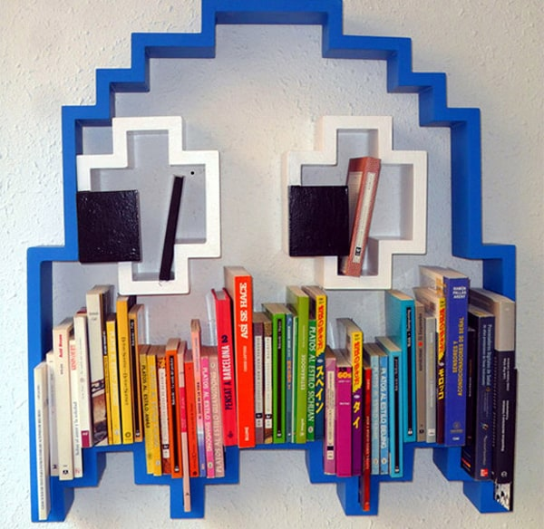 Pacman Ghost Bookshelf ($572.46)