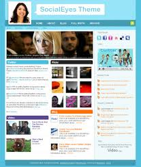 (M) Social WordPress theme