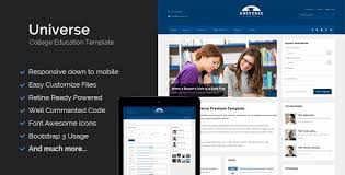 Hosting universe responsive site