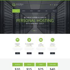 Reliable hosting wordpress template