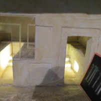 Model of First Temple Grave