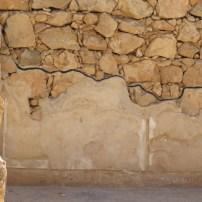 Plastered walls