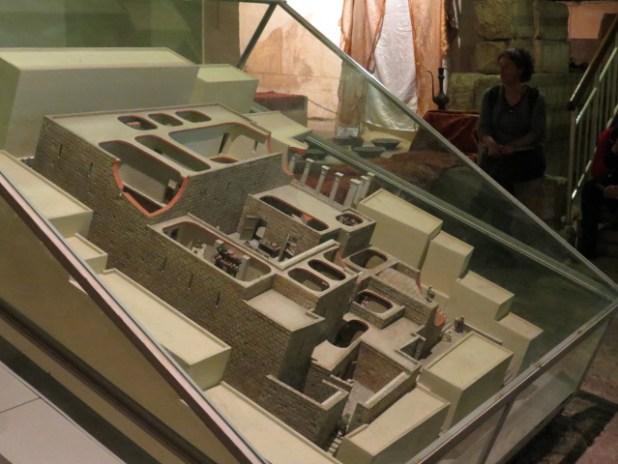 Model of Herodian Quarter home