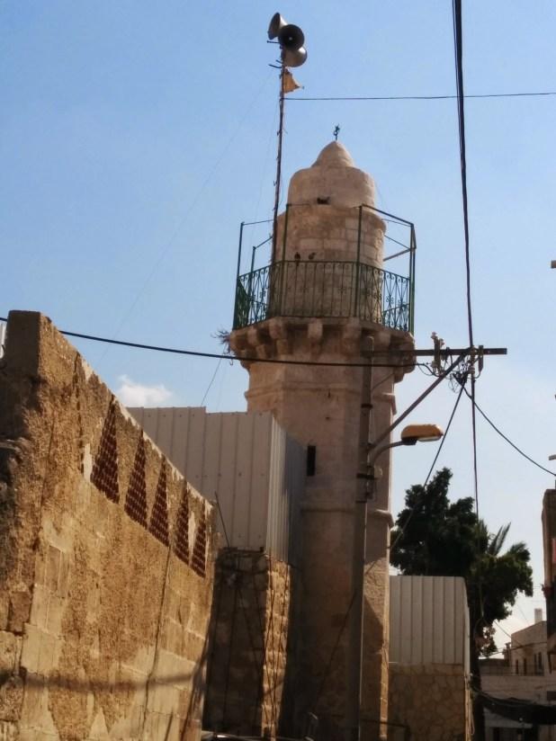 Minaret by the Hospice of St. Nicodemus and St. Joseph of Arimathea