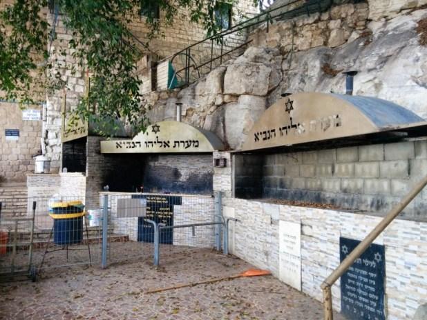 Elijah's Cave Haifa: Candle furnaces