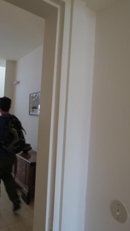 No mezuza in Weizmann's bedroom