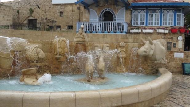 Zodiac Fountain