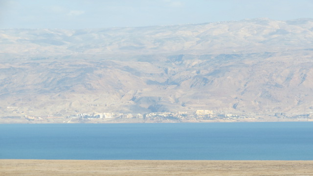 Qumran view on Dead Sea