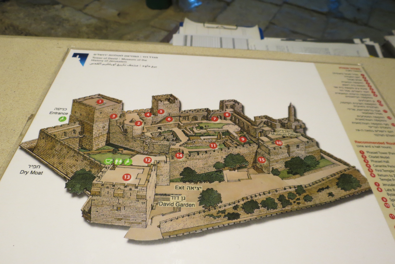 David's Citadel map