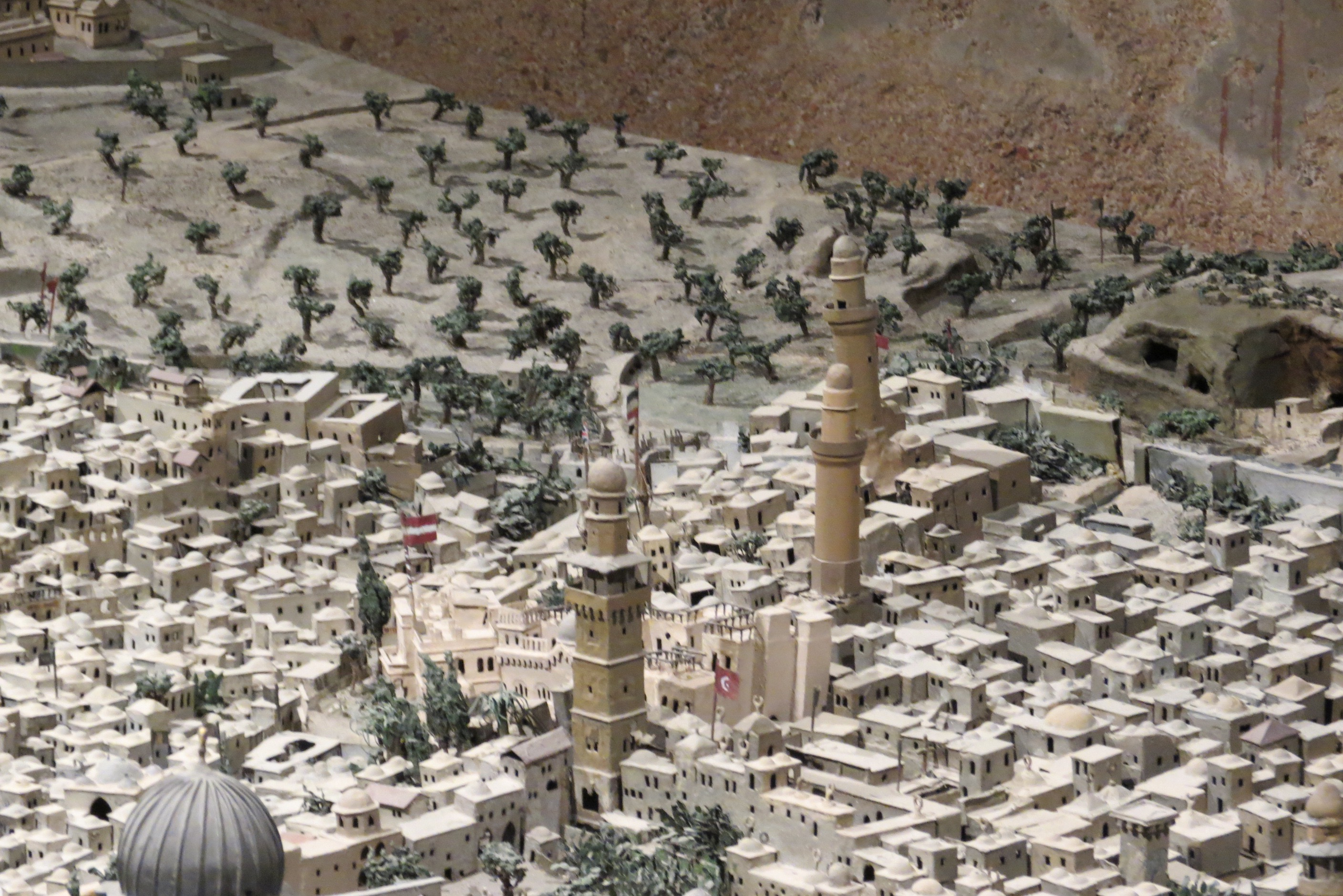19th Century Model of Jerusalem