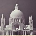 Model-Church-of-Annunciation-Barluzzi -