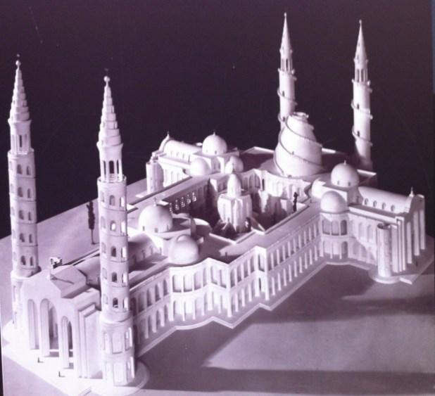Model-church-of-holy-sepulcher-Barluzzi - https://israel-tourguide.info/tag/antonio-barluzzi/