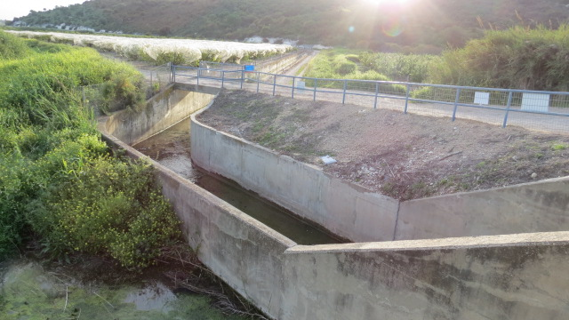 Alona Waterworks on Nahal Taninim