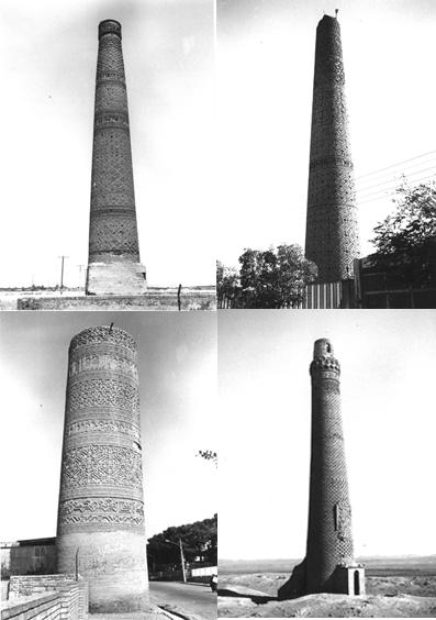 Iranian minarets - www.iranicaonline.org