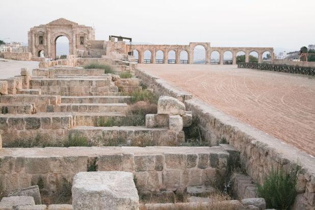 Hippodrome,_Jerash,_Jordan Photo:Diego Delso