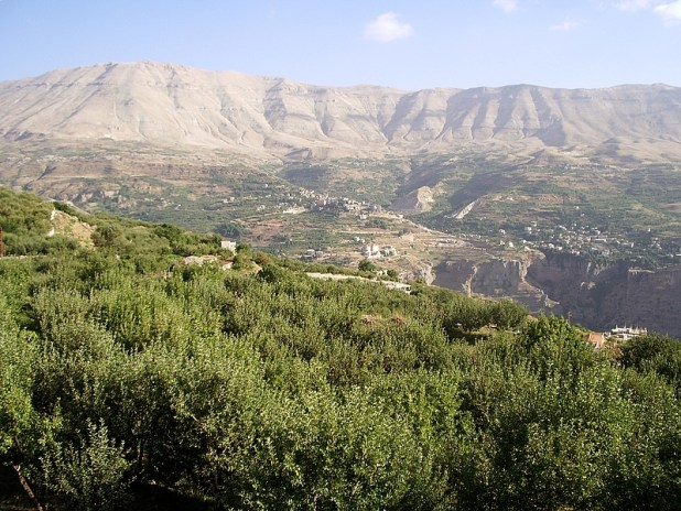 Kadisha Valley, a gorge in northern Lebanon Photo:it:Utente:Francesco.mazzucotelli